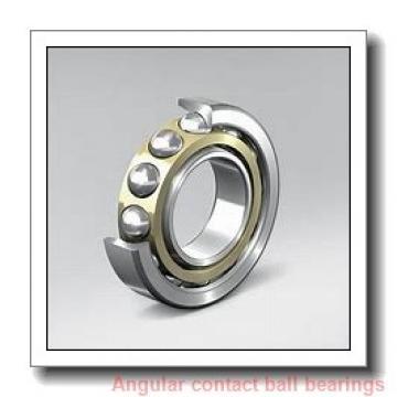 0.984 Inch | 25 Millimeter x 2.441 Inch | 62 Millimeter x 1 Inch | 25.4 Millimeter  INA 3305-J  Angular Contact Ball Bearings